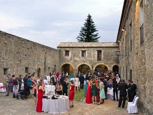 Alquiler del Castillo para celebración de bodas con restauración