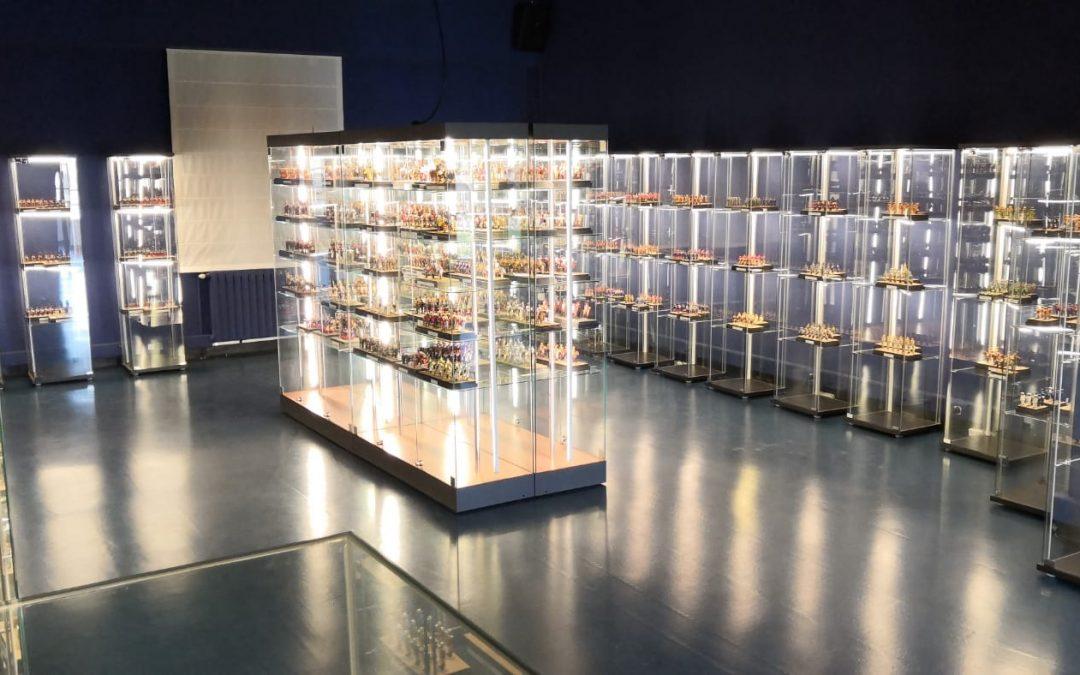 Se inaugura una nueva sala de exposiciones en el Museo de Miniaturas