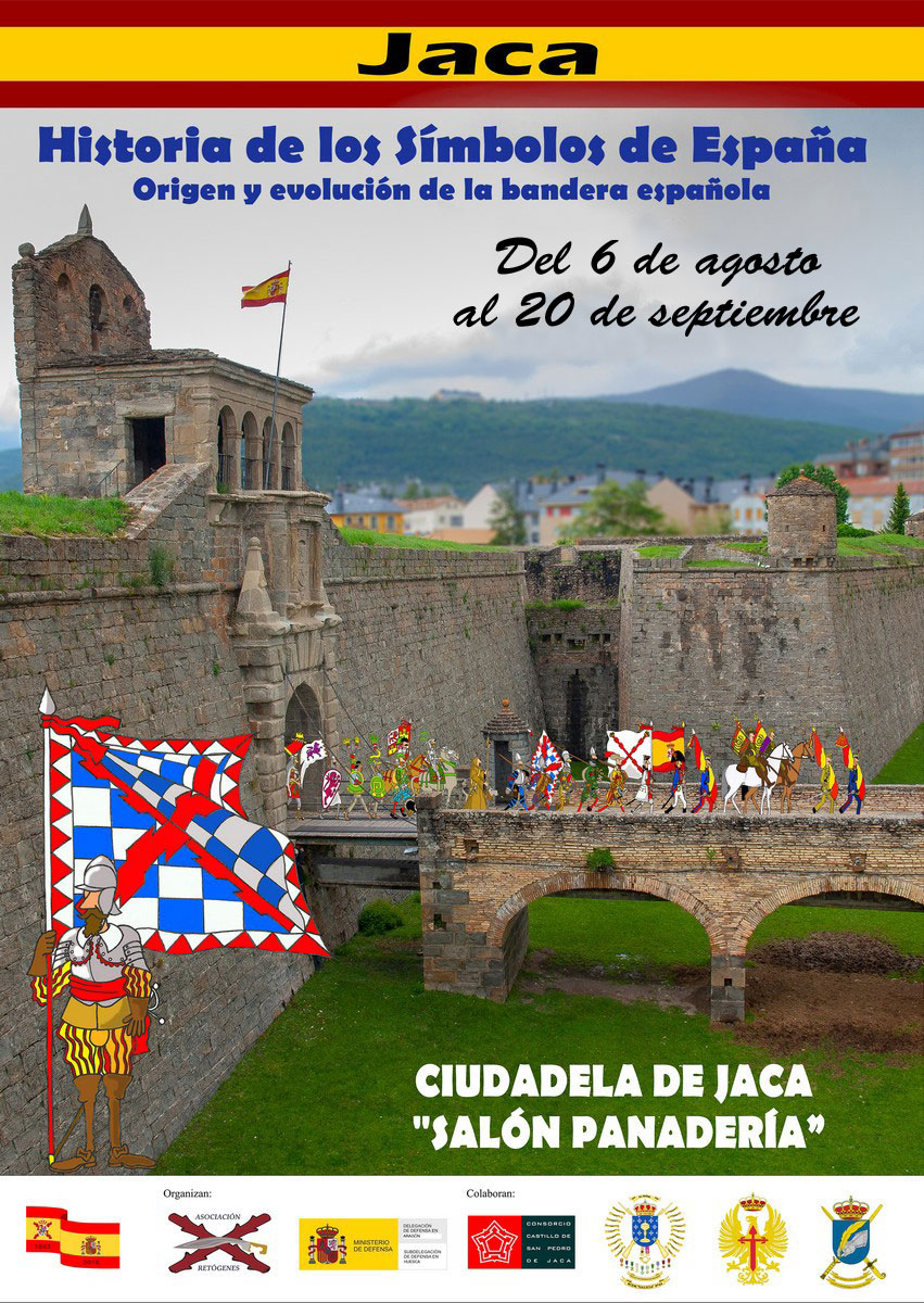 Cartel exposición Historia de los símbolos de España