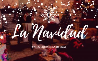 Papá Noel se instala en la Ciudadela de Jaca