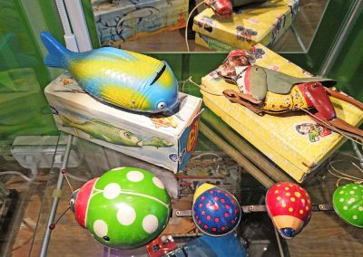 Exposición juguetes antiguos: animales