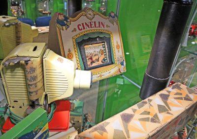 Exposición juguetes antiguos: cine