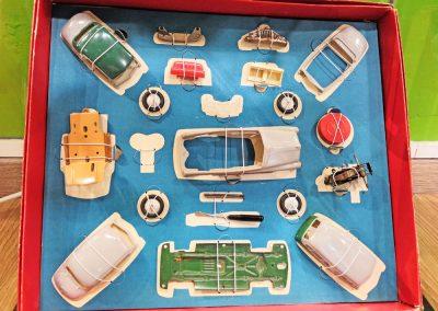 Exposición juguetes antiguos: coche