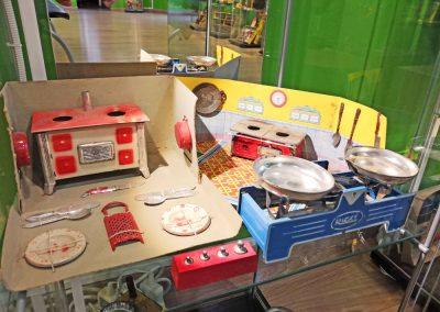 Exposición juguetes antiguos: cocina