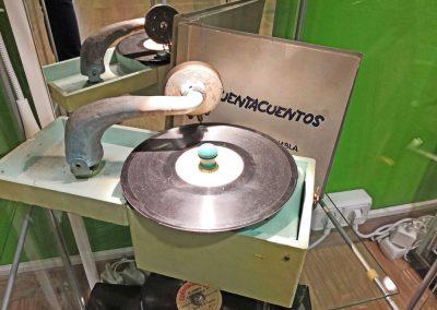 Exposición juguetes antiguos: disco