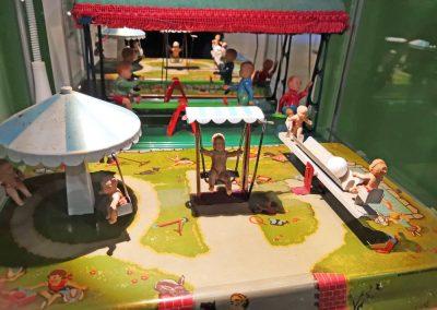 Exposición juguetes antiguos: parque