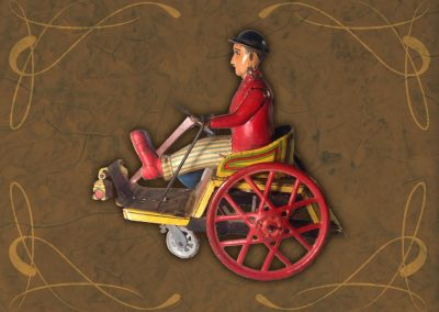 Exposición juguetes antiguos: triciclo