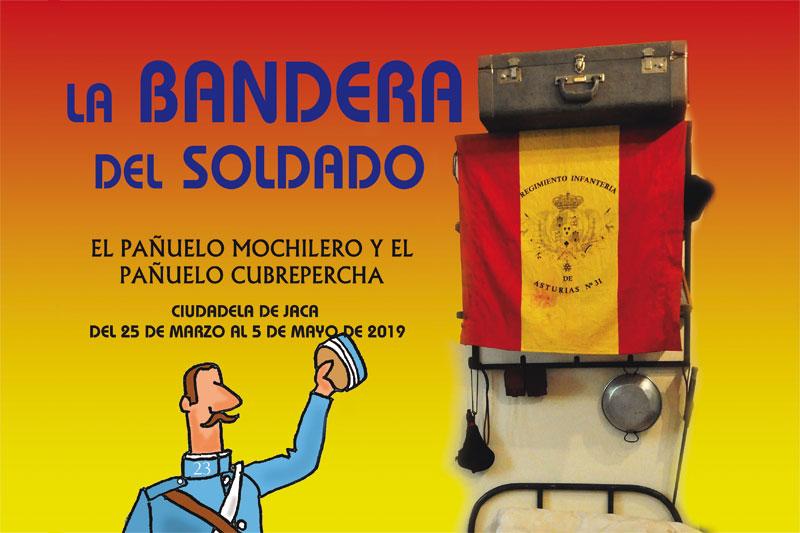 """Exposición """"La bandera del soldado, el pañuelo mochilero y el pañuelo cubrepercha"""""""