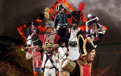 Llega la III Recreación Napoleónica a la Ciudadela de Jaca