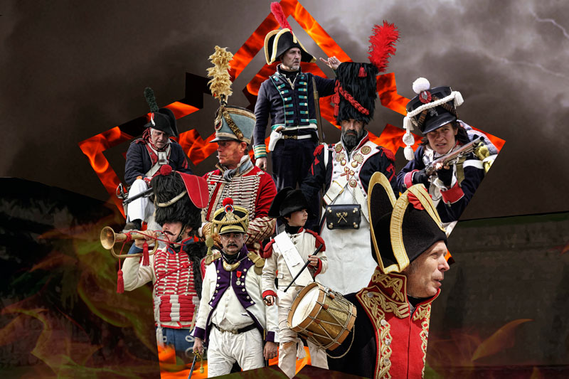 III Recreación Histórica en la Ciudadela de Jaca: Época Napoleónica