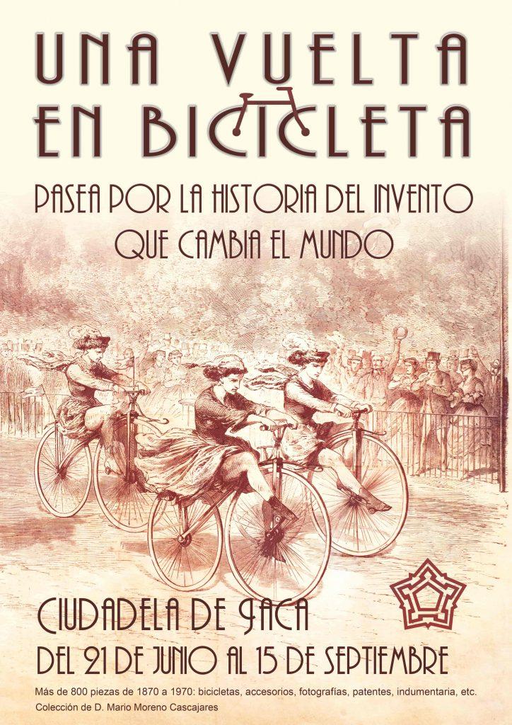 Exposición bicicleta Ciudadela de Jaca