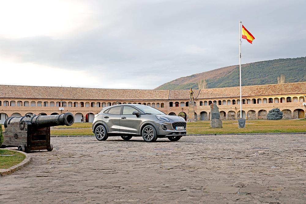 Presentación del nuevo Ford Puma en la Ciudadela de Jaca