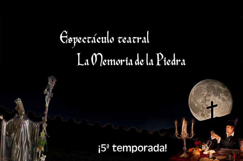 """Espectáculo teatral """"La Memoria de la Piedra"""""""