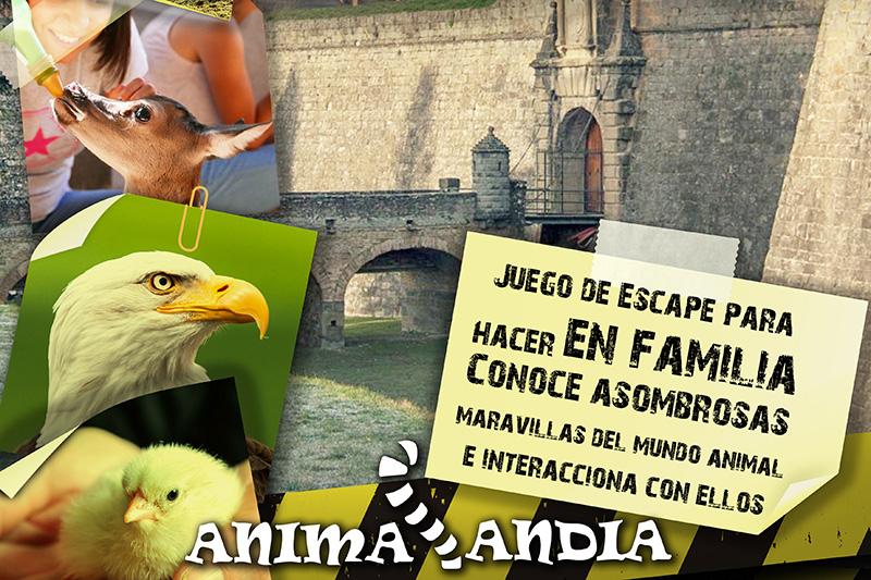 Animalandia. Un juego de escape para hacer en familia