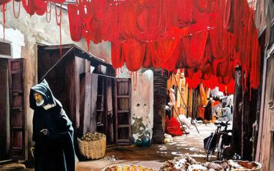 Fermín Ochoa. Exposición de pinturas