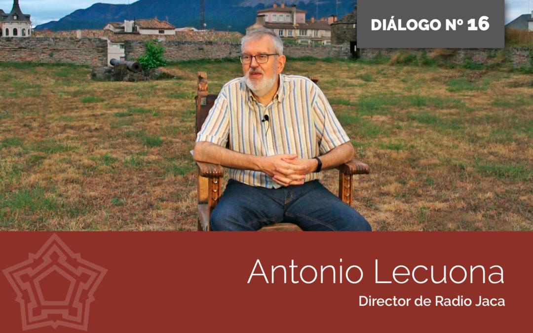 Entrevistamos a Antonio Lecuona   DIÁLOGOS DESDE LA FORTALEZA
