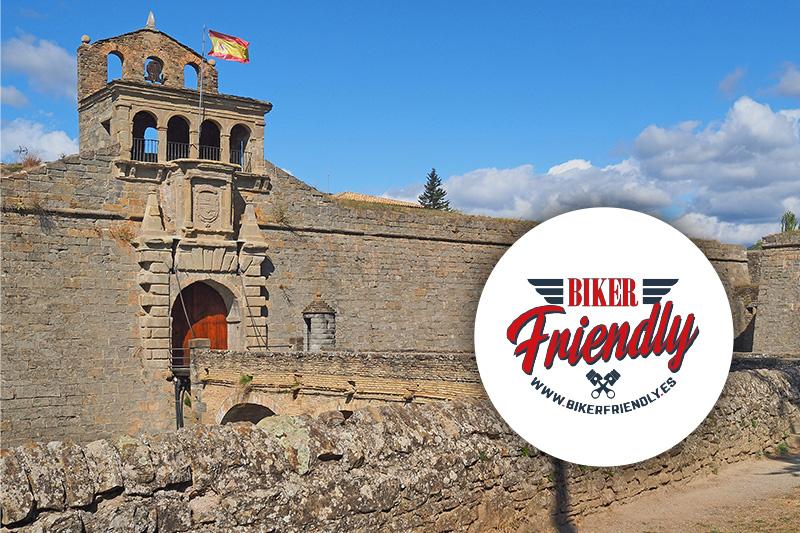 La Ciudadela de Jaca se une a Biker Friendly