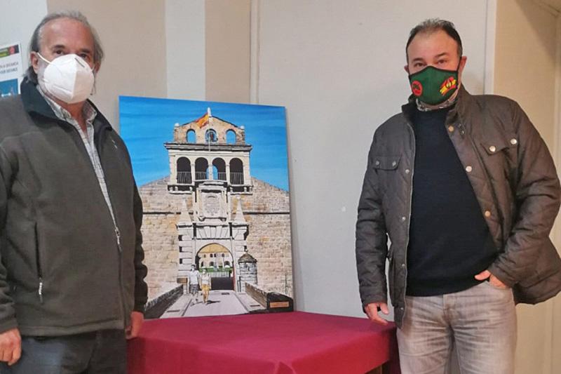Un lienzo de Fermín Ochoa acrecienta los fondos artísticos de la Ciudadela