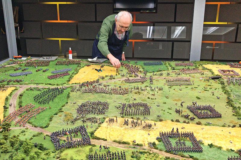 """Novedades en el diorama """"La batalla de Waterloo"""""""