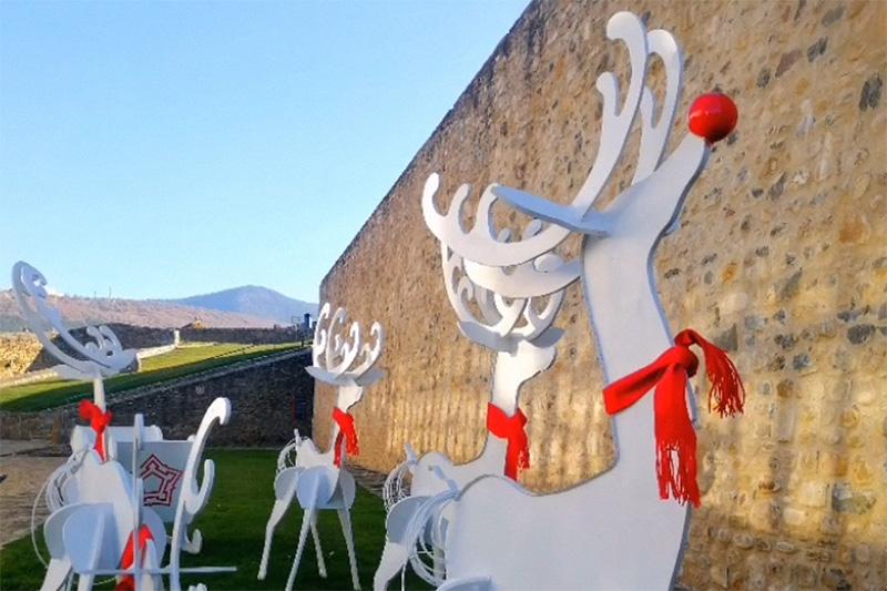 La Navidad llega a la Ciudadela de Jaca
