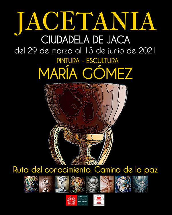 """""""Jacetania. Ruta del Conocimiento. Camino de la Paz"""". Exposición sobre el Santo Grial en Jaca"""