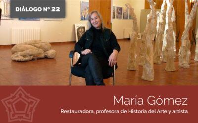 Entrevistamos a María Gómez | DIÁLOGOS DESDE LA FORTALEZA