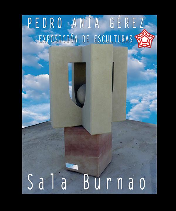 Exposición de esculturas. Pedro Anía