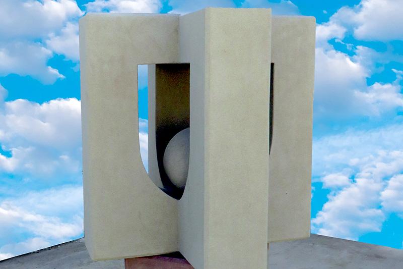 Pedro Anía. Exposición de esculturas
