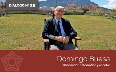 Entrevistamos a Domingo Buesa   DIÁLOGOS DESDE LA FORTALEZA