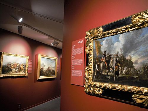 Sala de Batallas y exposición «Hechos de Armas, Hechos de Arte»