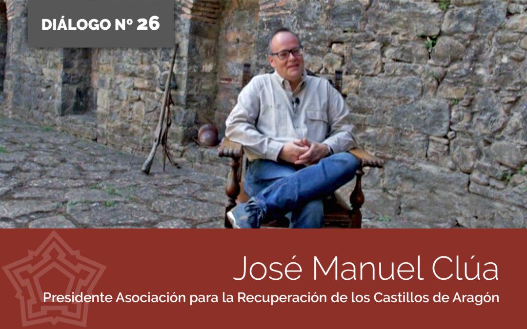 Entrevistamos a José Manuel Clúa   DIÁLOGOS DESDE LA FORTALEZA