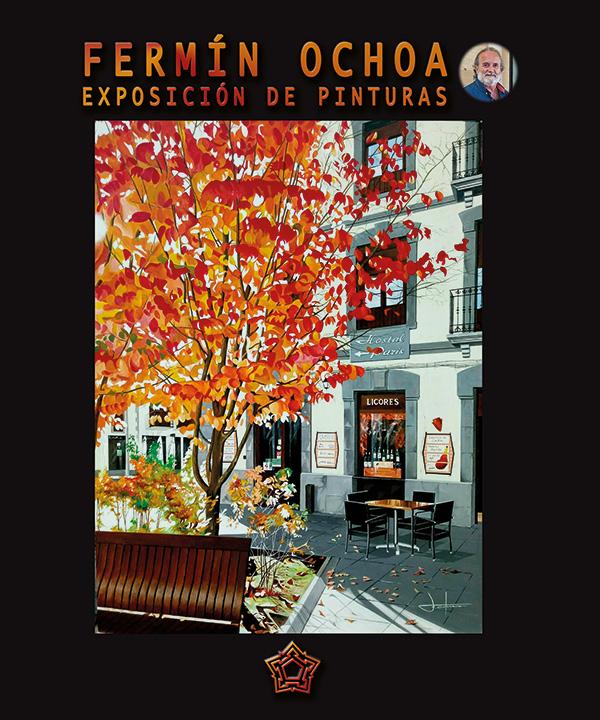 Exposición de pinturas. Fermín Ochoa
